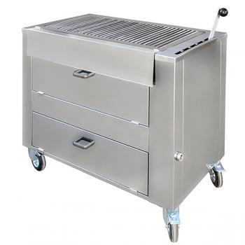 Barbecue professionnel bois B1010