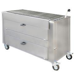 Barbecue professionnel bois B1510