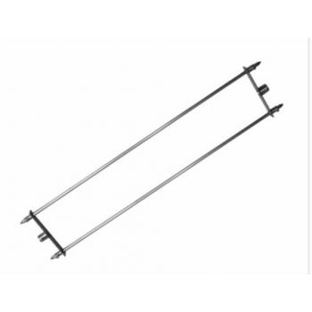 Porte-broche écarteur 140cm tournebroche politec