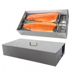Fumoir de table FT1 Duo pour fumer 4 saumons