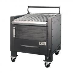 Barbecue bois professionnel B800