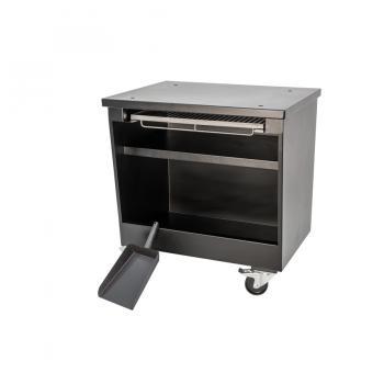 Table à roulettes four a charbon P70 XL Lux