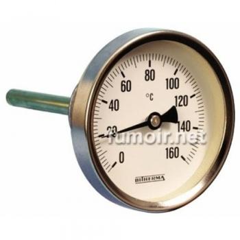 Thermomètre de fumoir pour températures de fumage