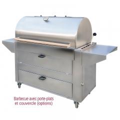 Barbecue professionnel bois B1260