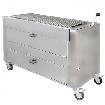 Barbecue professionnel charbon de bois B1510