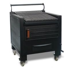 barbecue pour restaurant charbon B800