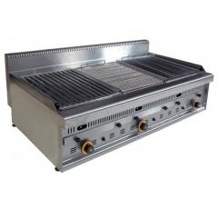 barbecue inox professionnel gaz G1270