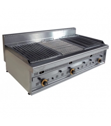 barbecue inox professionnel gaz G1270