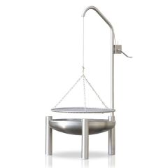 Barbecue rond suspendu 600B