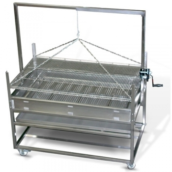 Barbecue pro charbon suspendu L1900