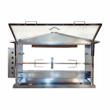 Foyer gaz optionnel pour tourne broche de station barbecue ST3