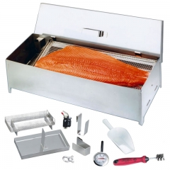 Fumoir inox de table FT1 Prémium