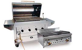 Barbecue professionnel gaz